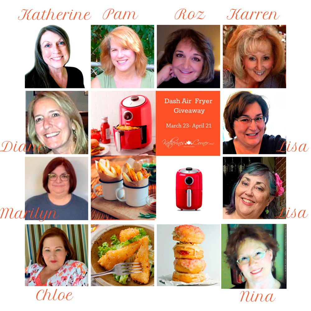 air fryer giveaway hostesses