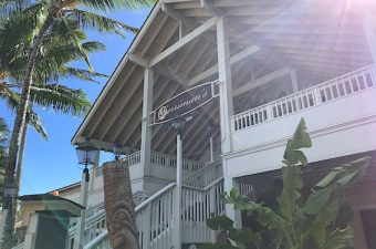 Merriman's Fish House on the south side of Kaua'i features Hawaii foods beautifully served. Fine dining with a view of the ocean.