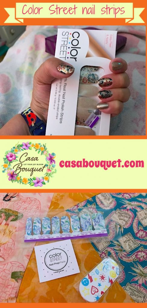 Steps for using Color Street 100% Real Nail Polish Strips. Read how to do it and more manicure tips!