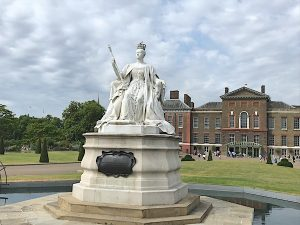 Kensington Palace has been part of the royal palaces since King William and Queen Mary. Victoria grew up there and it's now a residence for William and Kate.