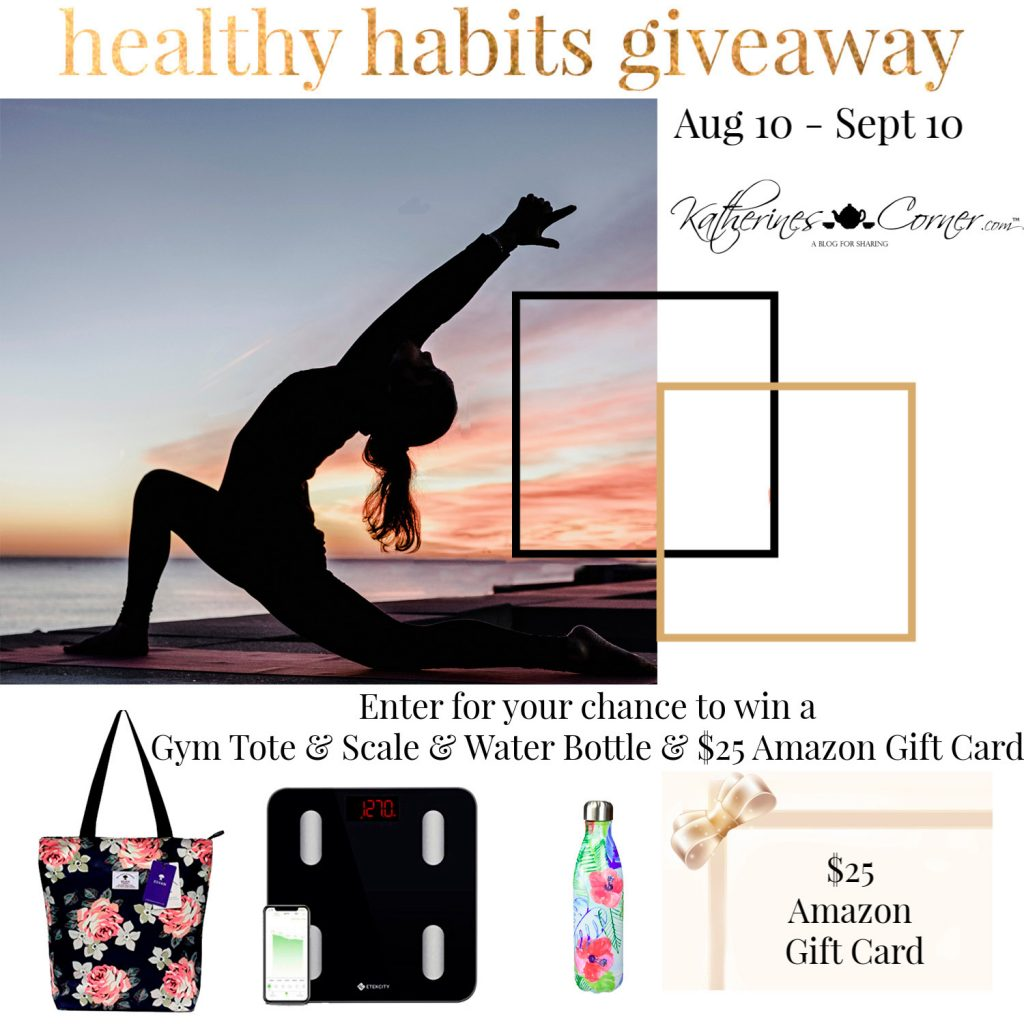 healthy habits giveaway main