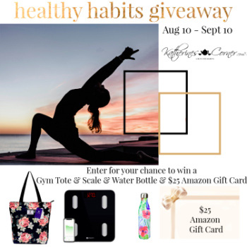 healthy habits giveaway sidebar