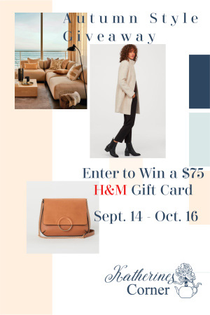 Autumn Style Giveaway sidebar
