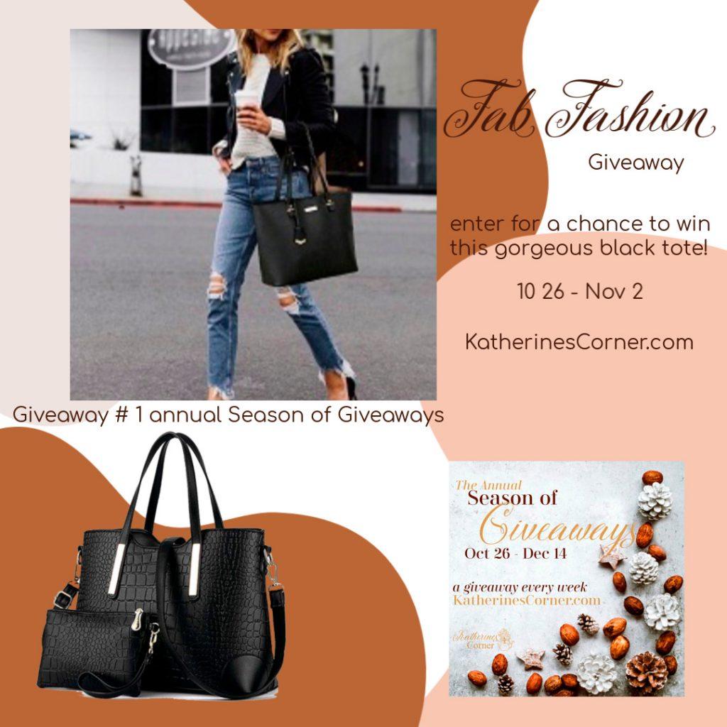 Fab Fashion Giveaway 1