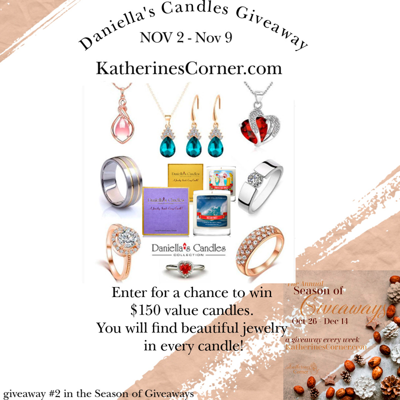 daniellas candles giveaway 2