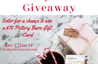 holiday home giveaway sidebar