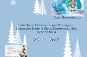 let it snow giveaway casa bouquet sidebar