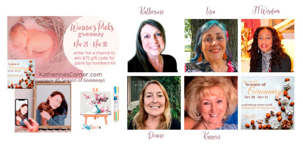 winnies pick giveaway hostesses