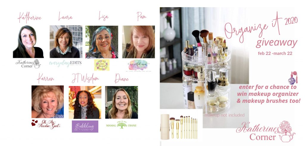 organize it giveaway hostesses katherines corner