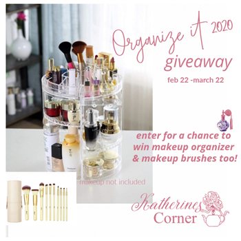 organize it giveaway sidebar image
