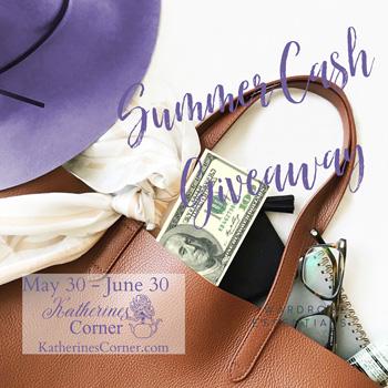 summer cash giveaway sidebar image