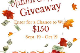 autumn shopping giveaway