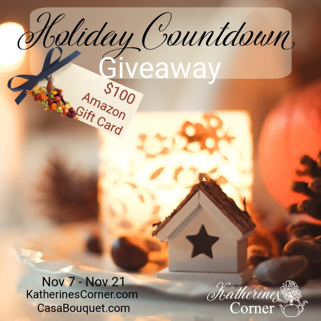 holiday countdown giveaway
