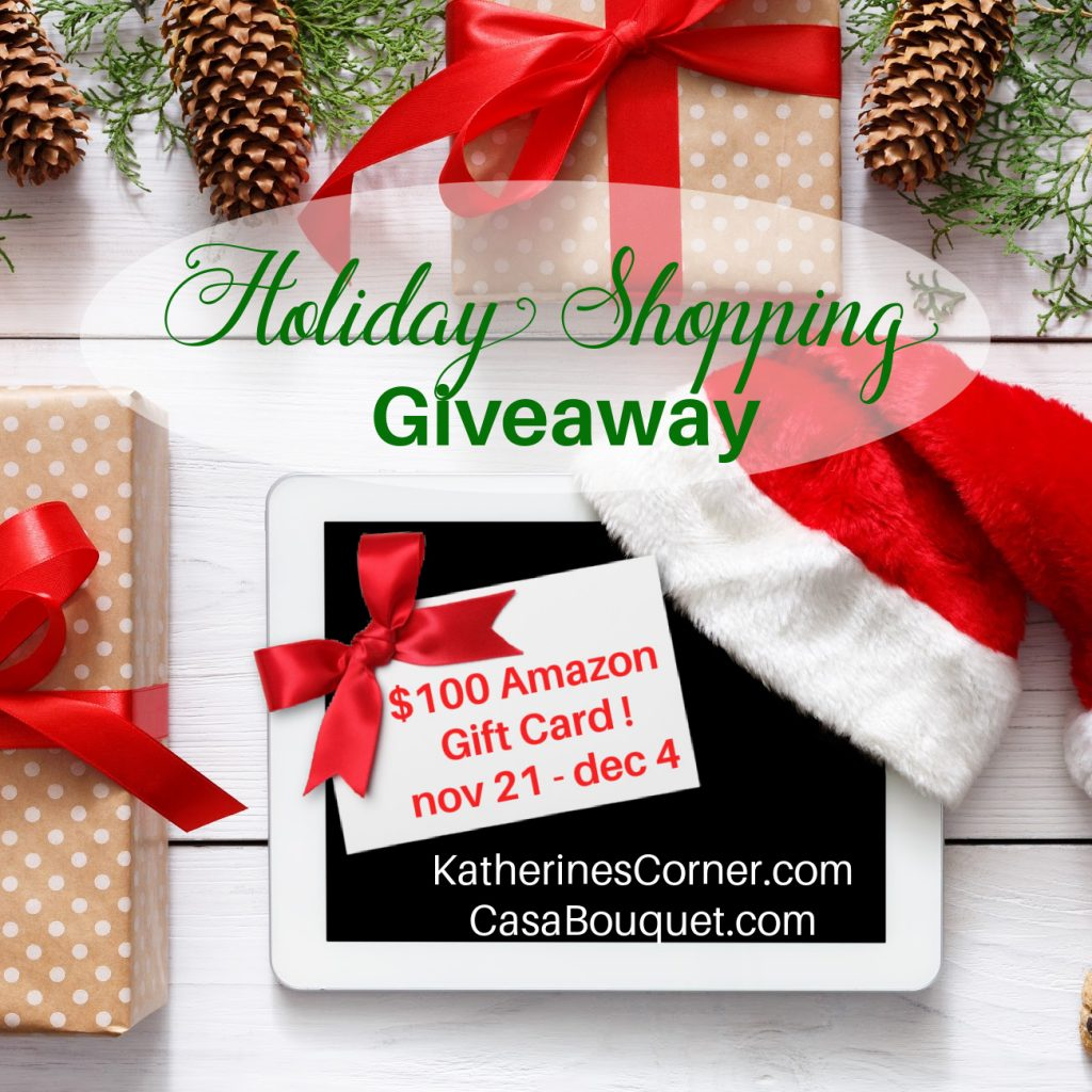 holiday shopping giveaway 2020