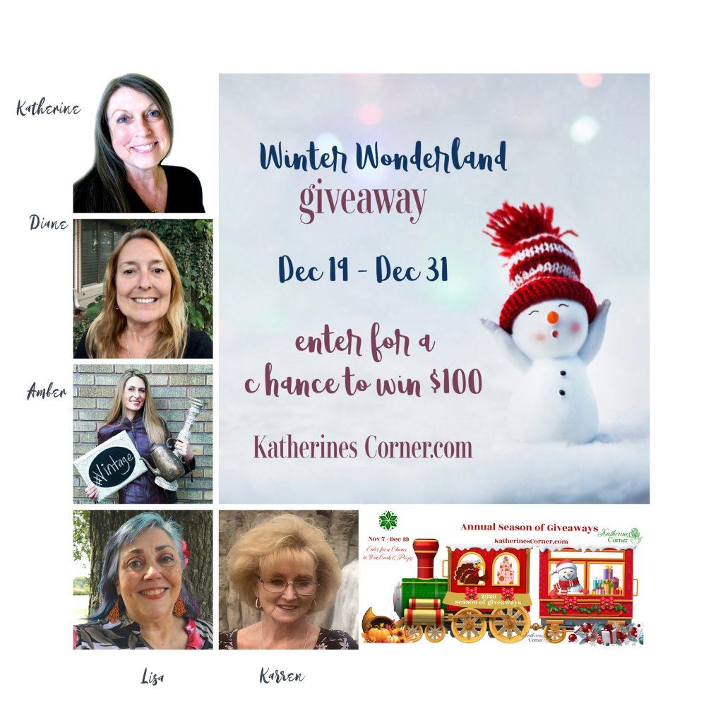 winter wonderland giveaway hostesses