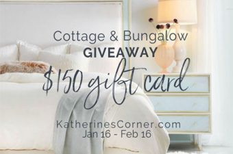 cottage and bungalow giveaway sidebar image