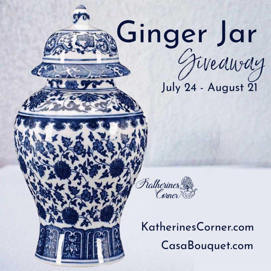 Ginger Jar giveaway